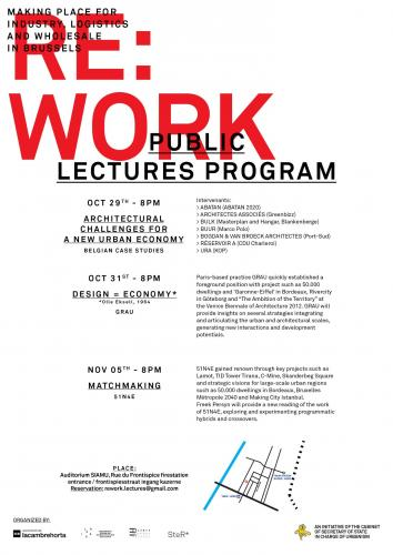REWORK: lecture programme